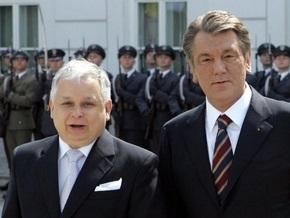 Качиньский пригласил Ющенко в Польшу