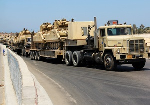 Египет начал масштабную антитеррористическую операцию на Синае