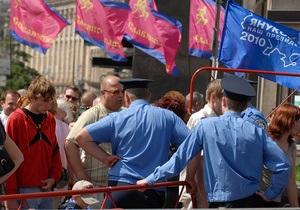 Глава МВД Украины заверил, что милиция одинаково относится ко всем политсилам