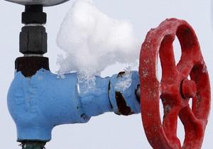Газ - Украина -Украина импортировала в январе всего 43 млн кубометров газа из Германии