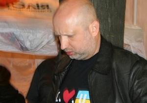Турчинов: Мы надеемся, что Европейский суд по правам человека отменит приговор Тимошенко