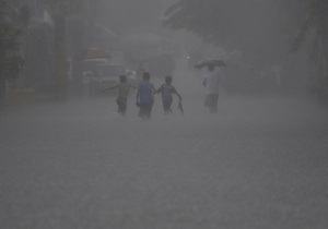 В Японии жертвами тайфуна Талас стали 15 человек, 45 пропали без вести
