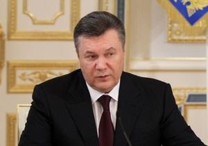 Янукович обратился к украинцам по случаю годовщины Чернобыльской трагедии