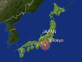В центральной части Японии произошло мощное землетрясение