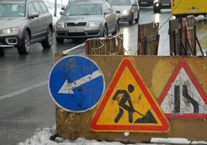 С 17 по 20 мая на Московском мосту в Киеве ограничат движение