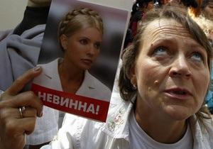 Четверть украинцев проголосовали бы за Батьківщину, если бы Тимошенко была на свободе - опрос