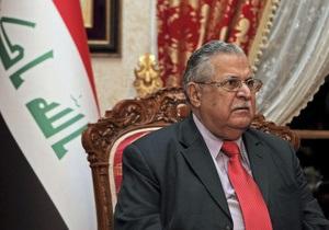 Президент Ирака перенес инсульт