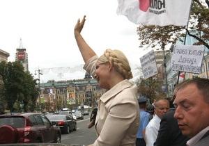 БЮТ создает фильм о суде над Тимошенко