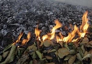 Двое сотрудников ГАИ спасли Киев от пожара