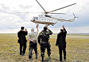 УП: За перевозку Януковича вертолетом оффшорной компании уплачено из госбюджета 3,5 млн грн