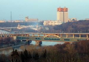 Женщина покончила с собой, прыгнув с моста в Москве