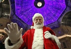 За полярным кругом состоялись соревнования Санта-Клаусов