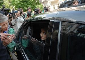 Тимошенко завтра улетает в Германию