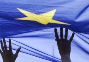 Украина-ЕС - В Киеве митингуют за присоединение Украины к ЕС