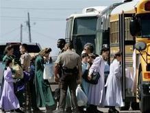 Женщины из секты мормонов добровольно вернулись на ферму