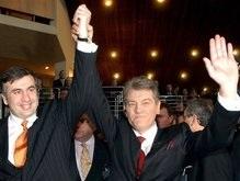 Ющенко приехал в Грузию агитировать за Саакашвили