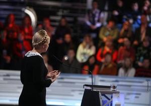 Тимошенко будет гостем программы Готовий відповідати на канале Украина
