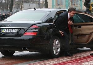 УП: Кортеж Януковича попал в ДТП. Один человек погиб