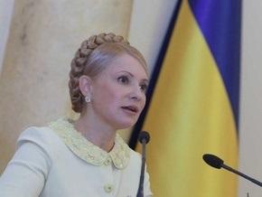 Тимошенко обещает не распускать Раду после победы на выборах президента