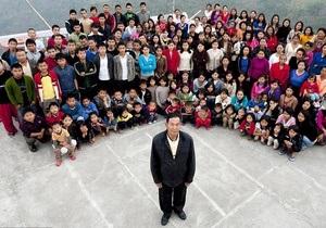 В Индии проживает самая большая семья в мире