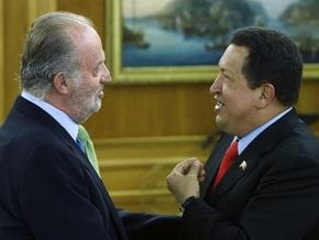 Чавес оценил новый имидж короля Испании: Ты отрастил себе бороду, прямо как Кастро