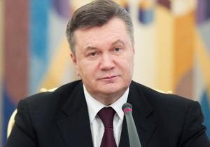 Янукович заявил, что в сентябре в Украине начнется строительство самой крупной трансформаторной станции в Европе