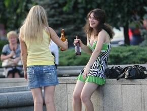 В Украине более 90% школьников пробовали алкоголь