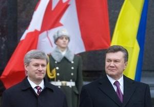 Премьер Канады написал Януковичу письмо в связи с делом Тимошенко
