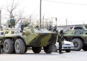 СМИ: В Дагестан переброшен крупный воинский контингент