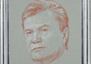 Знаменитый российский художник по заказу Азарова написал портрет Януковича