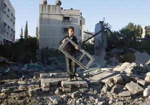 Власти Газы согласились на перемирие с Израилем