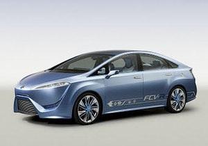 Toyota выпустит седан, работающий на водороде