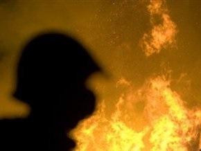 В выходные в Киеве сгорели две машины
