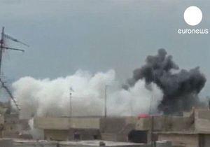 За сутки жертвами насилия в Сирии стали около 100 человек