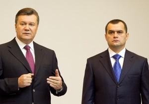 Фотогалерея: Пост сдал, пост принял. Янукович представил нового главу МВД