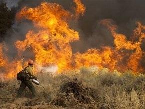 В Калифорнии из-за пожара эвакуирован город