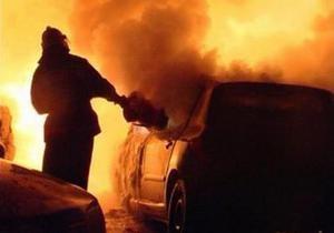 В Ужгороде неизвестные сожгли автомобиль депутата горсовета