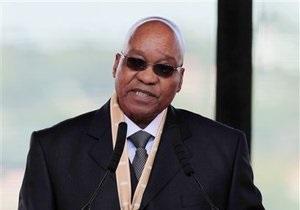 Президент ЮАР, имеющий трех жен, подтвердил слухи о своем внебрачном ребенке