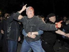 МВД Грузии: В столкновениях в Тбилиси пострадали 29 человек