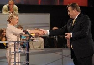 БЮТ назвал Большую политику Киселева концертом по заявкам