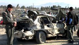 В Афганистане смертник совершил нападение на аэропорт