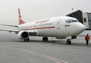 Российские власти разрешили грузинской авиакомпании выполнять чартерные рейсы в РФ
