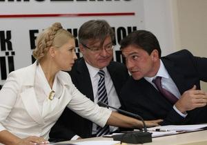 В Батьківщине заявляют, что Киевский областной теризбирком зарегистрировал списки партии-клона