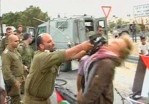 В Израиле отстранен офицер, ударивший датчанина прикладом