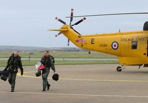 Принц Уильям принял участие в спасательной операции у побережья Англии