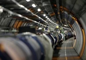 Большой адронный коллайдер впервые вышел на половину проектной энергии