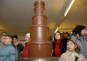 Во Львове состоялся Праздник шоколада