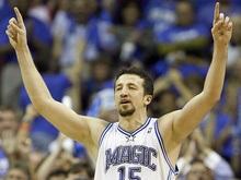 Туркоглу удостоен звания Самого прогрессирующего игрока NBA