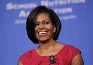 Мишель Обаму наградили за борьбу с детским ожирением