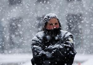 Метеорологи: Через 30 лет в Украине может перестать выпадать снег